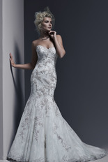 Sottero-and-midgley-bridal-fall-2015-2016-gintare-strapless-sweetheart-chantilly-lace-fit-flare-wedding-dress-swarovski-crystal-beaded-lace